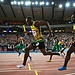 GLASGOW, SCOTLAND - AUGUST 01:  Usain Bolt comp...