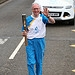 Batonbearer 002 Peter Doig carries the Glasgow ...