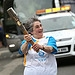Batonbearer 006 Marjorie Ruddick carries the Gl...