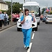 Batonbearer 003 Lorna Dempsey carries the Glasg...