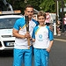 Batonbearer 020 Gordon Stables receives the Gla...