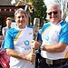Batonbearer 017 Ian Price hands the Glasgow 201...