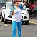 Batonbearer 015 Gemma Thomson carries the Glasg...