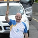 Batonbearer 023 Michael Cavanagh carries the Gl...