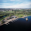 Strathclyde Country Park aerial view